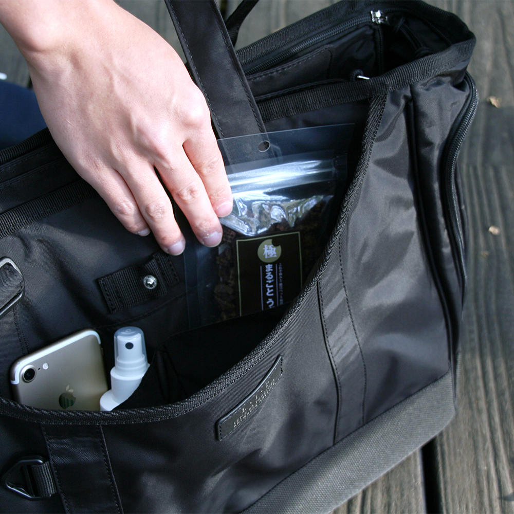 充実の収納力。便利なポケットについて。