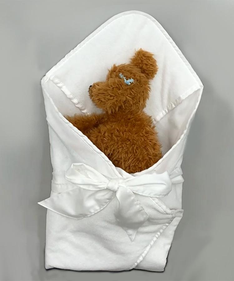 ペットの葬儀用おくるみ布団